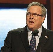 Former Florida Gov. Jeb Bush is the George P. Bush's father.