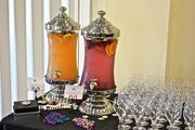 The Junior League of Tampa's current and former Cookbook Chair brunch, 2011. Pictured is Sparkling Punch and Fruit Infused Water.