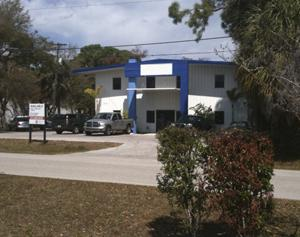 The two-story warehouse on West Nassau Street just north of Tampa's Westshore District will become the new home of Bubba the Love Sponge's radio studios.