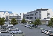 A rendering of the new emergency center at St. Anthony's Hospital.