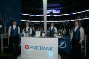 The open bar sponsored by PNC Bank.