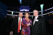 Tampa Bay Business Journal Staff Writer Mark Holan with Michelle Bauer from Common Language and Ron Weaver from Stearns Weaver Miller Weissler Alhadeff & Sitterson PA.