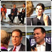 A Diptic-created image featuring panelists at Bloomberg Link. This discussion featured Florida CFO Jeff Atwater, Rep. Connie Mack IV, and Rep. Mary Bono Mack.