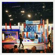 Once the Daily Show taping was over, I snapped a quick shot of its set.