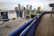 Bud Light party deck at the St. Pete Times Forum.