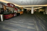 Promenade level concourse areas at the St. Pete Times Forum