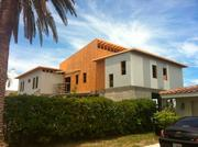 A home designed and built by REAL Building Group engineered for 150mph with SIPS panels.