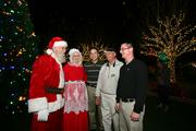 Santa and Mrs. Claus, Sean Miller, Chuck Scaffidi and Tommy Murray