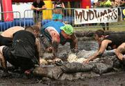 """TransAmerica's team, """"The Dirty Birds,"""" competes at The Eliminators event."""