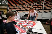 CCM Graphic Solutions' Rob Starace and Sue Snyder produced personalized posters for campers with celebrities or friends.