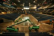 Overall look at the arena