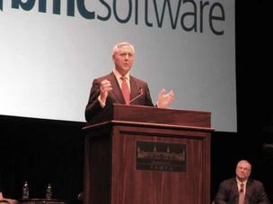 "Robert ""Bob"" Beauchamp, chairman and CEO of BMC Software"
