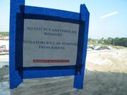 This sign is ubiquitous, especially given how many windows there are in the project.