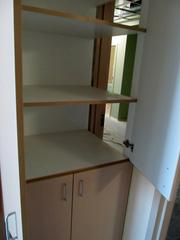 The system utilized lean manufacturing consultants from Toyota to consider design to rooms, stations and systems. Here's an example: A linen and trash closet adjoined to one of the rooms can be accessed from the hallway to restock or clear waste.