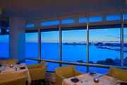 View of Rocky Point from Armani's, the 14th floor restaurant serving Northern Italian fare.