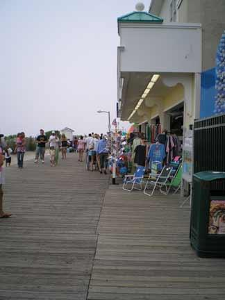 The boardwalk at Point Pleasant.