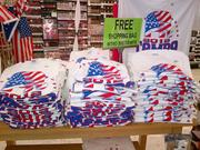 More Republican National Convention clothing is available at a pharmacy on Westshore Boulevard.