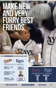 """Rays' 2011 """"Only at the ballpark"""" advertising and marketing campaign"""