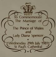 Associate Editor Pam Huff's family has a collection of items from the 1981 wedding of Prince Charles and Lady Diana Spencer.