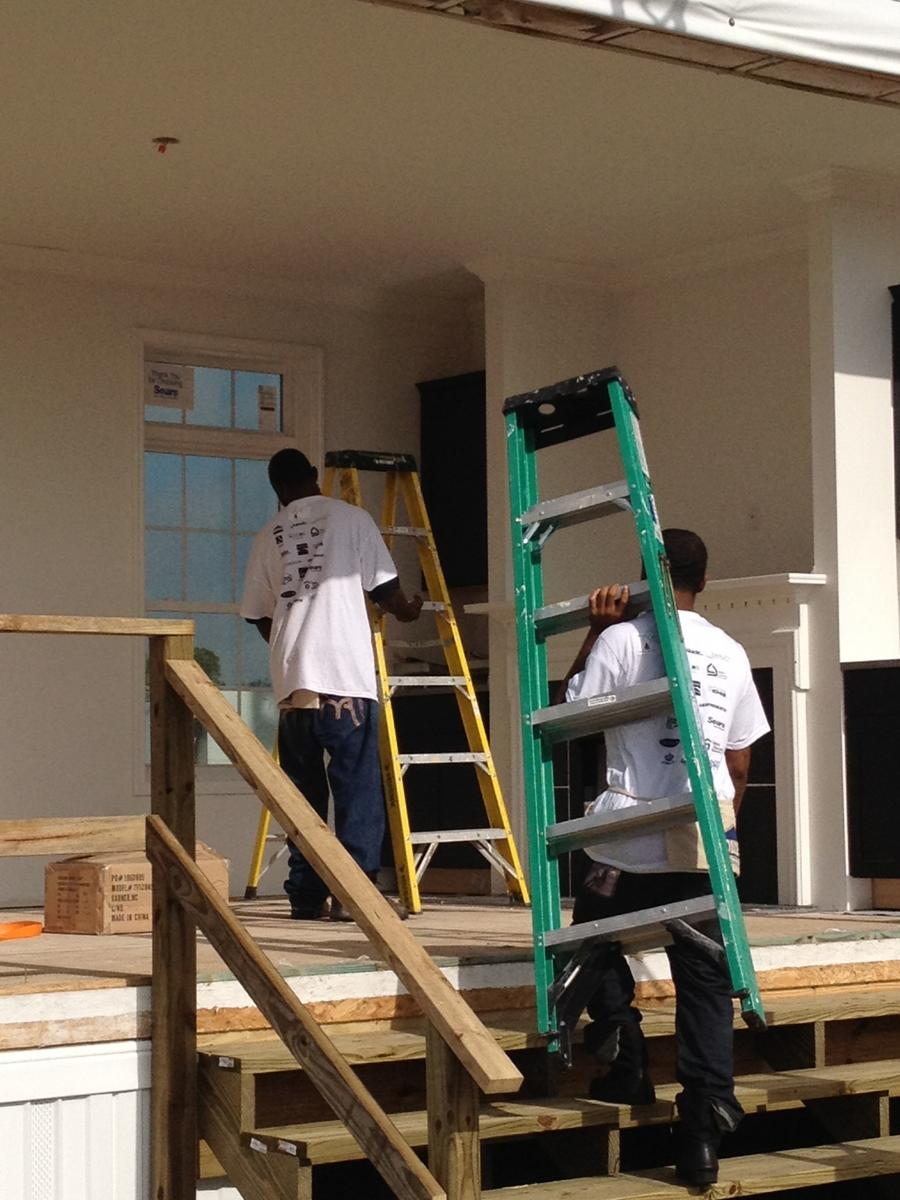 Two Participants In The YouthBuild Program At Tampa Housing Authority