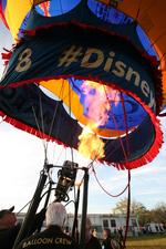 Oz balloon stops by HSN headquarters