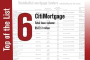 No. 6 is CitiMortgage.