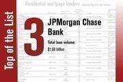 No. 3 is JPMorgan Chase Bank.