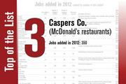 Caspers Co. is No. 3 on the List.