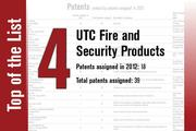 No. 4 on the List is UTC Fire and Security Products.