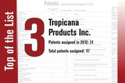 No. 3 on the List is Tropicana Products.