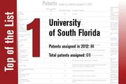 No. 1 on the List is the University of South Florida.