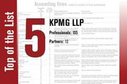 KPMG is No. 5 on the List.