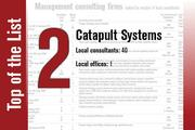 Catapult Systems is No. 2 on the List.