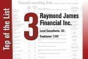 No. 3 on the List is Raymond James Financial Inc.