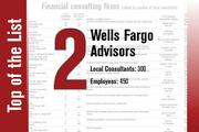 No. 2 on the List is Wells Fargo Advisors.