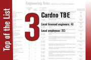No. 3 on the List is Cardno TBE.