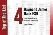 No. 4 on the List is Raymond James Bank FSB.