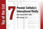 Premier Sotheby's is No. 7 on the list.