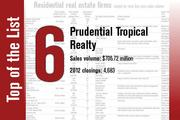 At No. 6 is Prudential Tropical Realty.