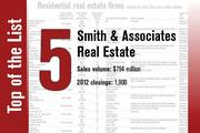 Smith & Associates Real Estate is No. 5 on the list.