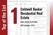 Coldwell Banker Residential Real Estate is the No. 1 residential real estate firm in Tampa Bay.