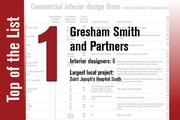 No. 1 on the List is Gresham Smith and Partners.