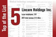 No. 5 on the List is Lincare Holdings Inc.