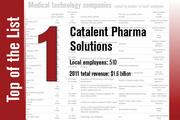 No. 1 on the List is Catalent Pharma Solutions.