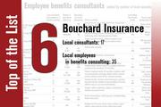 Bouchard Insurance takes the sixth spot.