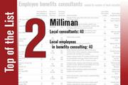 Milliman is ranked second.