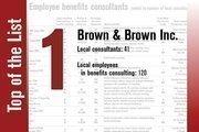 Brown & Brown Inc. is ranked No. 1.