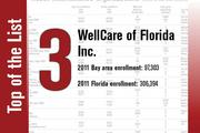 WellCare of Florida Inc. is No. 3.
