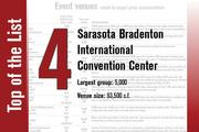 The Sarasota Bradenton International Convention Center is nearly 100,000 square feet.