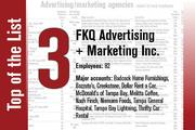 No. 3 on the List is FKQ Advertising + Marketing.
